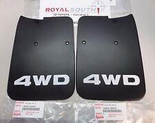 Toyota Tacoma 01-04 4wd Rear Mud Guard Flap Set Genuine OE OEM