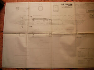 Fly International (France) Plans of Fun Race a powered glider model 75 cm span