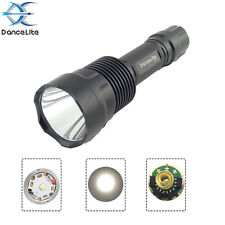 DanceLite C12 CREE XP-L Hi V3 10x7135 3500mA 10W 3M(L/M/H) LED Flashlight, Lamp