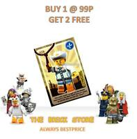 LEGO - #093 - COWGIRL - CREATE THE WORLD TRADING CARD - BESTPRICE + GIFT - NEW