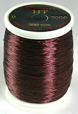 Gudebrod Rod Building Thread 1 Oz Spool BURGANDY #9008 HT Metallic Size A or D