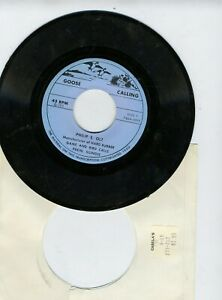 Game calls   Goose Philip S. Olt 45 RPM  record near mint