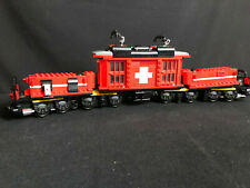 Lego 10183 Krokodil Lokomotive ohne Motor Schweiz Hobby Trains Eisenbahn 46cm
