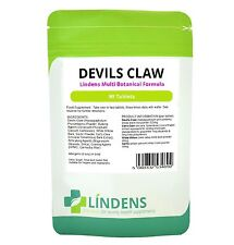 Devils Devil's Claw 90 Tablets Multi Botanical Cat's Claw White Willow Garlic