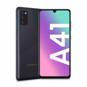 "Samsung Galaxy A41 4+64GB Dual Sim 6.1"" SM-A415F Prism Crush Black Nuovo ITALIA"