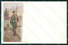 Military Russia Russian Soldier postcard XF3636