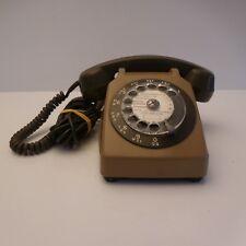 Téléphone à cadran CTD PARIS 1980 design XXe authentique vintage art-déco