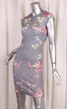 McQ by ALEXANDER McQUEEN Womens Cotton Multicolor Floral Bodycon Dress XS