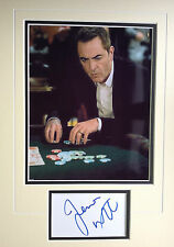 JAMES NESBITT - LUCKY MAN  TV SERIES ACTOR - STUNNING SIGNED PHOTO DISPLAY