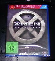 X-MEN 1-6 COLLECTION BLU RAY SCHNELLER VERSAND NEU & OVP
