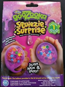 Creative Kids GooZooka Squiezie Surprise Make Your Own Stress Ball