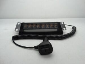 8LED Flashing Dash Light 12v 24v Lightbar Truck Recovery Strobe Amber beacon LED