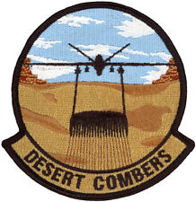 USAF 9th ATTACK SQUADRON MORALE PATCH - DESERT COMBERS