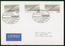 Mayfairstamps Germany 1997 Leipzig to Tel Aviv Cover wwr_04083