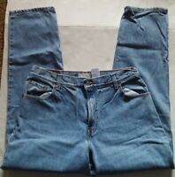 Vintage Levis 550 Womens Jeans 14  Med High Waist Relaxed Tapered USA 80s
