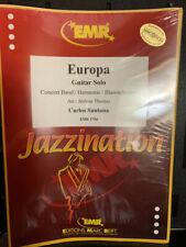 Europa - Santana/ arr Jerome Thomas for Concert Band & Electric Guitar EMR pub
