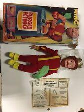 vintage burger king doll
