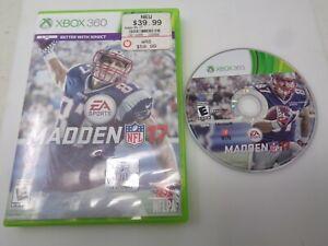 Madden NFL 17 (Microsoft Xbox 360, 2016)
