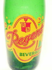 FULL 7 OZ LIME SODA - Regent --PITTSBURGH, PA--VINTAGE ACL SODA / POP BOTTLE -#4