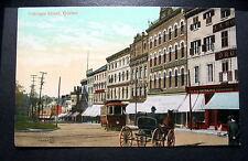 CANADA QUEBEC FABRIQUE STREET 1900s Horse Cart Stores