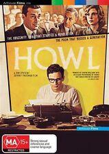 Howl  * James Franco * (DVD, 2011) BRAND NEW REGION 4