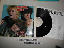LP Punk Channel Three - Last Time I Drank (10 Song) ENIGMA USA + Insert