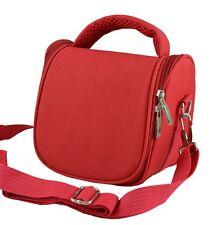 AR2 Red Camera Case Bag for Sony Cyber Shot DSC HX200V HX100V H200 HX300 HX400