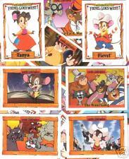 1991 FIEVEL GOES WEST cartoon family movie 150 Card Set SUPER SET