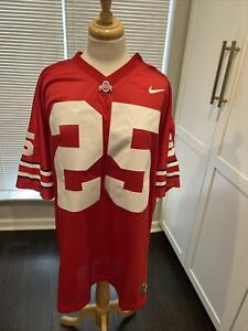 🏈College Nike Ohio State number 25 VINTAGE Jersey Size 4XL🏈