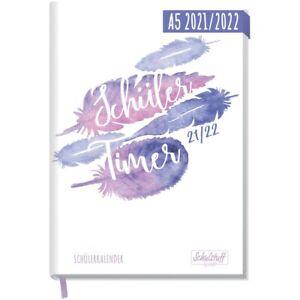 Häfft Schülertimer 2021/2022 Federleicht / A5