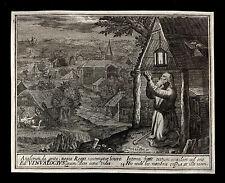 santino incisione 1600* S.VINNOCO   le clerc