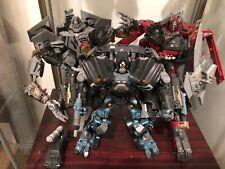 Hasbro Transformers DOTM Leader Class Ironhide Sentinel Prime Starscream w/ Gift