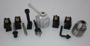 """Craftsman 109 Lathe Quick Change Tool Post and Tooling Package """"NEW"""""""