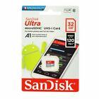 32GB 64GB 128GB 256GB 512GB SanDisK Ultra Micro SD XC Speicherkarte 120MB/s kpoc