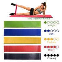 gimnasio de fitness Fuerza bucles de goma Bandas de resistencia Correa de yoga