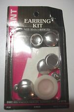 "Maxant earring kit f/pierced ears sz 30(3/4"") 2 pkgs each makes 2 pair"