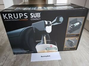 Brand New Krups Beer Wulf The Sub Compact Black 🍻✅ NEXT DAY DELIVERY ✅