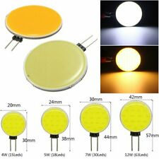 Ampoule Led COB 5W 7W 12W G4 12V DC Dimmable Camping Hotte blanc froid 600lm