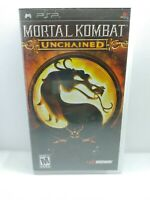 Mortal Kombat Unchained Sony PSP 2006 Greatest Hits CIB Clean Tested Playstation