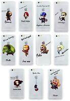 Coque/Étui Apple iPhone 5 5s SE 6 6s 7 Plus / Protecteur d'écran / Gel Héros