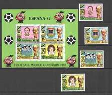 L0154 1987 TANZANIA FOOTBALL WORLD CUP SPAIN 82 MARADONA #197-0 KB+SET MNH