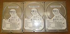 Lot of 3 - HP D5039-60001 18.2GB SCSI Drives