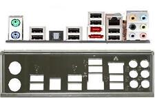 ATX diafragma i/o Shield asus p8h61-pro m4a79xtd evo Io #23 backplate nuevo p8p67 le