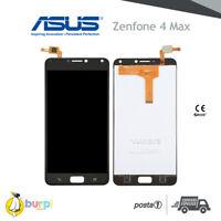DISPLAY LCD + TOUCH SCREEN ASUS ZENFONE 4 MAX ZC554KL VETRO NERO SCHERMO AAA+