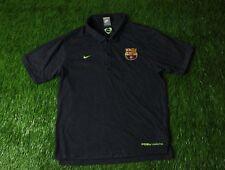 BARCELONA SPAIN 2008/2009 FOOTBALL POLO SHIRT JERSEY TRAINING NIKE ORIGINAL
