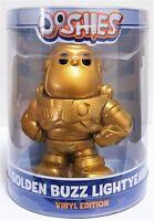 "Ooshies Golden Buzz Lightyear Toy Story 4 Disney Pixar Vinyl Edition Figure 4"""