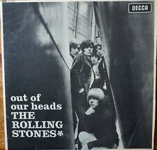 ROLLING STONES VINYL LP 'OUT OF OUR HEADS'. 1965 1ST ISSUE BLUE LABEL