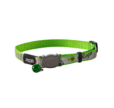 ROGZ REFLECTOCAT CAT COLLAR WITH BREAKAWAY BUCKLE AND NIGHT TIME VISABILITY