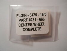 Replacement Part #281 Center Wheel Complete Genuine Elgin 666 6475 Factory Watch