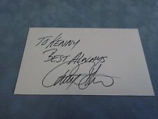 AUTHENTIC AUTOGRAPH **PERRY BOTKIN JR. (AMERICAN COMPOSER)**  COA STK#B1